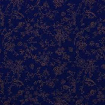 Musselin romantic navy